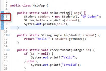 Hướng dẫn debug code trong eclipse – GP Coder (Lập trình Java)