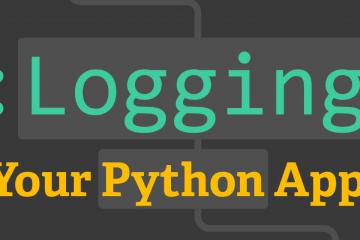 Log và xử lý lỗi trong Python