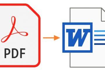 5 cách hữu dụng nhất chuyển file PDF sang Word online hiện nay